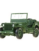 abordables -Petites Voiture Véhicule Militaire Militaire / Chariot / Camion de transporteur Vue de la ville / Cool / Exquis Métal Tous Enfant / Adolescent Cadeau 1 pcs