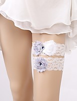 cheap -Lace Wedding / Lace Wedding Garter 617 Floral Garters Wedding / Special Occasion