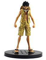 economico -Figure Anime Azione Ispirato da One Piece Monkey D. Luffy PVC 16 cm CM Giocattoli di modello Bambola giocattolo Tutti