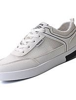 cheap -Men's Shoes Tulle / PU(Polyurethane) Summer Comfort Sneakers White / Black