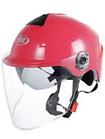 abordables -YOHE YH-357-G Casque Bol Adultes Unisexe Casque de moto simple / Résistant à la chaleur / Faciliter l'habillage