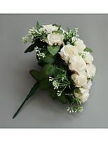 abordables -Fleurs de mariage Bouquets Mariage / Fête de Mariage Tissus 11-20 cm