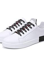 economico -Per uomo PU (Poliuretano) Estate Comoda Sneakers Rosa e bianco / Bianco / nero / Bianco e verde