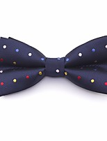 cheap -Men's Party / Basic Cotton / Polyester Bow Tie - Solid Colored / Polka Dot / Color Block / All Seasons