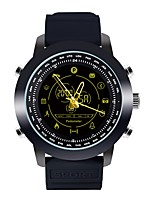 abordables -Montre Smart Watch JSBP-DX18 for iOS / Android Imperméable / Calories brulées / Pédomètres Podomètre / Minuterie / Chronomètre