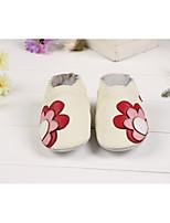 Недорогие -Мальчики Обувь Овчина Наступила зима Обувь для малышей Мокасины и Свитер для Белый