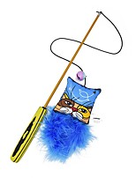 cheap -Interactive / Teaser / Feather Toy Pet Friendly / Cartoon Toy Catnip / Plush For Cats