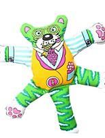 Недорогие -Жевательные игрушки / Учебный / Игрушки с писком Подходит для домашних животных / Мультфильм игрушки Другие материалы / Ткань Назначение Собаки / Коты