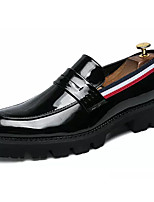 cheap -Men's Shoes Faux Leather Fall Comfort Loafers & Slip-Ons White / Black
