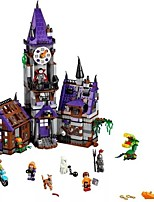 cheap -Building Blocks 860 pcs Scooby Doo Mystery Mansion Exquisite All Gift