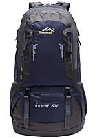 abordables -60 L Sacs à Dos - Etanche, Vestimentaire, Respirabilité Extérieur Randonnée, Camping, Voyage Nylon Rouge, Vert, Bleu