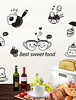 cheap -Decorative Wall Stickers / Fridge Stickers - Animal Wall Stickers Animals Living Room / Bedroom / Bathroom