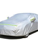 abordables -Cobertura completa Cubiertas de coche Tejido de Oxford / Película de aluminio Reflexivo / Barra de advertencia For Honda CR-V Todos los Años For Todas las Temporadas