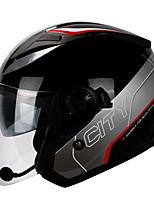 abordables -YOHE YH-868 Casque Bol Adultes Unisexe Casque de moto Respirable / Déodorant / Anti-transpiration