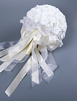 cheap -Wedding Flowers Bouquets Wedding Silk Like Satin / Lace / Foam 11-20 cm