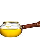 Недорогие -стекло / Дерево Heatproof / Чайный нерегулярный 1шт чайник
