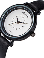 cheap -Women's Wrist Watch Casual Watch / Lovely PU Band Fashion / Elegant Black / White / Brown