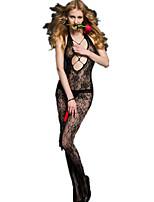 abordables -Costumes Vêtement de nuit Femme - Dos Nu, Jacquard