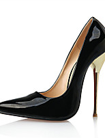 cheap -Women's Shoes PU(Polyurethane) Fall & Winter Basic Pump Heels Stiletto Heel Pointed Toe Black / Red / Burgundy / Wedding