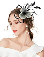 cheap -Women's Vintage / Elegant Hair Clip / Fascinator Flower / Mesh