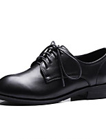 Недорогие -Жен. Обувь Полиуретан Весна / Осень Удобная обувь Кеды На низком каблуке Круглый носок Белый / Черный / Красный