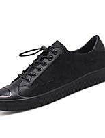 economico -Per uomo PU (Poliuretano) Estate Comoda Sneakers Nero