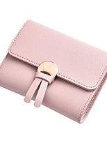 cheap -Women's Bags PU(Polyurethane) Wallet Buttons Gray / Purple / Sky Blue