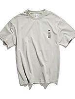 cheap -Men's Polo - Letter Shirt Collar / Short Sleeve