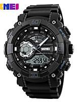 Недорогие -SKMEI Муж. Спортивные часы / электронные часы Китайский Календарь / Защита от влаги / Фосфоресцирующий силиконовый Группа На каждый день / Мода Черный / Крупный циферблат