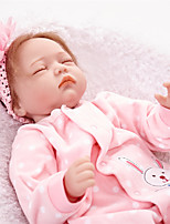 Недорогие -FeelWind Куклы реборн Девочки 22 дюймовый как живой Детские Девочки Подарок