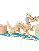 economico -Modellini di legno / Giocattoli di logica e puzzle Drago Scuola / Nuovo design / Livello professionale di legno 1 pcs Per bambini Tutti Regalo
