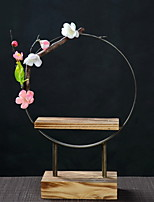 cheap -1pc Wood / Metal Simple StyleforHome Decoration, Home Decorations Gifts