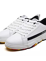 cheap -Men's Shoes PU(Polyurethane) Fall Comfort Sneakers White / Red / Black / White
