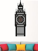 Недорогие -Декоративные наклейки на стены - Простые наклейки Пейзаж Гостиная / Спальня