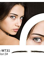cheap -1 pcs Eyebrow Eyebrow Color Eyebrow Stencil Handmade / Women / Christmas Makeup Women / Lady / Eye High Quality / Fashion Party Evening / Party / Evening / Daily Wear Daily Makeup / Halloween Makeup