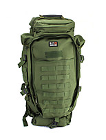cheap -60 L Hiking Backpack - Quick Dry, Wearable Outdoor Hiking, Camping Nylon Army Green