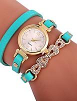 baratos -Mulheres Relógio Elegante / Bracele Relógio Chinês Criativo PU Banda Elegante Branco