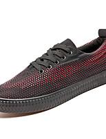 Недорогие -Муж. Сетка Весна / Осень Удобная обувь Кеды Белый / Черный / Красный