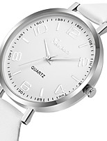cheap -Geneva Women's Dress Watch / Wrist Watch Chinese New Design / Casual Watch / Cool Leather Band Casual / Fashion Black / White / Red