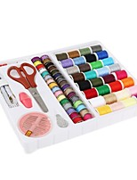 cheap -Decdeal 100pcs/set Sewing Kit ,Beginners Sewing Kit,Practical Mini Travel sewing kit