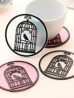 cheap -Drinkware Soft Plastic Coaster / Mug Cute 1 pcs