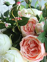 Недорогие -Искусственные Цветы 5 Филиал Классический Стиль / Modern Розы Букеты на стол