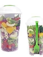 cheap -Kitchen Tools Plastic Fruit & Vegetable Tools Portable Salad Tools Fruit / Salad 1pc