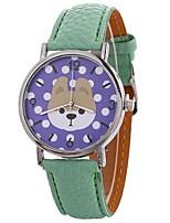 baratos -Mulheres Relógio Elegante / Relógio de Pulso Chinês Relógio Casual / Adorável / Mostrador Grande PU Banda Casual / Fashion Preta / Branco