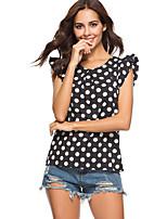 preiswerte -Damen Punkt T-shirt