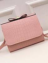 cheap -Women's Bags PU(Polyurethane) Shoulder Bag Bow(s) Blushing Pink / Beige / Gray