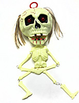 cheap -Halloween Prop Horror Skeleton / Skull 1 pcs Pieces All Adults' Gift