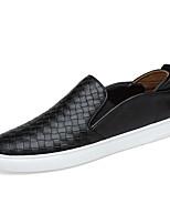 abordables -Homme Chaussures Cuir Printemps & Automne Semelles Légères Mocassins et Chaussons+D6148 Noir / Marron / Bleu