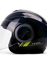 Недорогие -YEMA 632 Каска Взрослые Универсальные Мотоциклистам Защита от удара / Защита от ультрафиолета / Защита от ветра