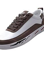 cheap -Men's Shoes PU(Polyurethane) Summer Comfort Sneakers Black / Gray / Khaki